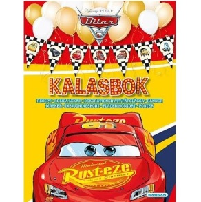 Disney Cars 3, Kalasbok - Disney Cars 3, Kalasbok
