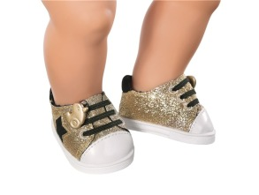 BABY born Trend Sneakers Glitter - Guld - BABY born Trend Sneakers Glitter - Guld