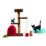 Schleich  42501 Katter med leksaker - Schleich  42501 Katter med leksaker