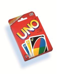 Mattel Games, UNO Kortspel 7+ - Mattel Games, UNO Kortspel 7+