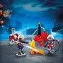 Playmobil City Action - Brandmän med vattenpump 9468