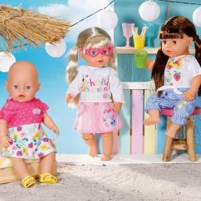 Baby Born Holiday Fashion Spring set - Baby Born Holiday Fashion Spring set