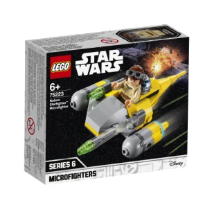 LEGO Star Wars 75223 - Naboo Starfighter Microfighter 6+ - LEGO Star Wars 75223 - Naboo Starfighter Microfighter 6+