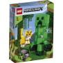 21156 LEGO Minecraft BigFig Creeper™ och ozelot 7+ - 21156 LEGO Minecraft BigFig Creeper™ och ozelot 7+