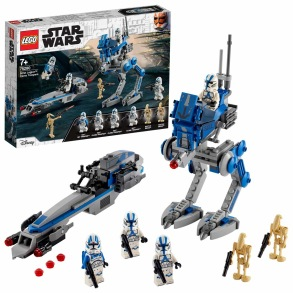 75280 LEGO Star Wars 501ST LEGION CLONE TROOPERS 7+ - 75280 LEGO Star Wars 501ST LEGION CLONE TROOPERS 7+