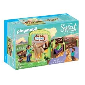 Playmobil Spirit - Hästbox Pru och Chica Linda 9479 - Playmobil Spirit - Hästbox Pru och Chica Linda 9479