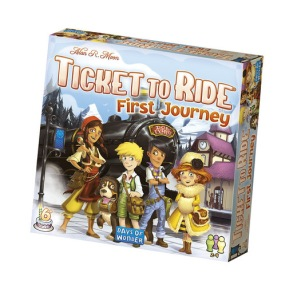Ticket to Ride First Journey - Ticket to Ride First Journey