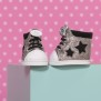 BABY born Trend Sneakers Glitter - Silver
