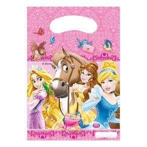 Kalaspåsar Disney Prinsessor 6-pack - Kalaspåsar Disney Prinsessor 6-pack