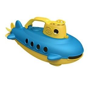 Plasto Green Toys Submarine - Ubåt 6mån+ - Plasto Green Toys Submarine - Ubåt 6mån+