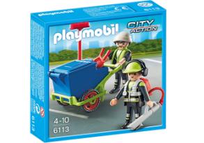 Playmobil 6113 renhållningsteam - Playmobil 6113 renhållningsteam