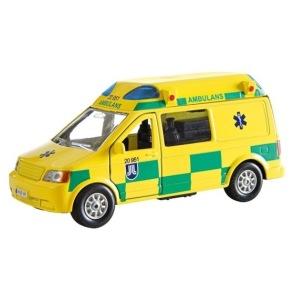 Ambulans Van med ljud o ljus - Ambulans Van med ljud o ljus
