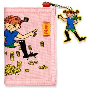 Pippi Långstrump Rosa Plånbok - Pippi Långstrump Rosa Plånbok