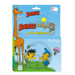 Bamse, Ljudbok & Bok Bamse & Lejonet - Bamse, Ljudbok & Bok Bamse & Lejonet