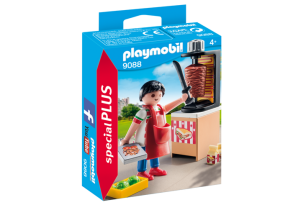 Playmobil 9088, Kebabförsäljare - Playmobil Kebabförsäljare