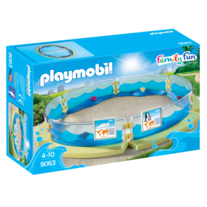 Playmobil 9063, Bassäng inhägnad - Playmobil 9063, Bassäng inhägnad