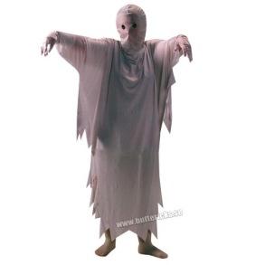 Spökdräkt, barn stl 110/116 - Spökdräkt, barn stl 110/116