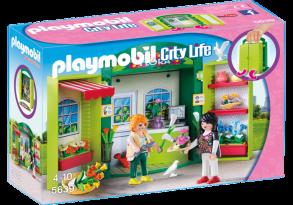 Playmobil 5639, Blomsterbutik i praktisk box - Playmobil 5639, Blomsterbutik i praktisk box