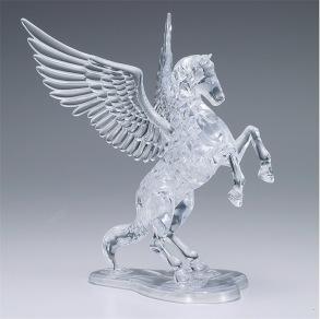 Häst - 3D Crystal Puzzle -  42pcs 8+ - Häst - 3D Crystal Puzzle -  42pcs 8+