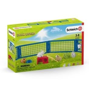 Schleich Ett hem åt kaninen och marsvinet 42500 - Schleich Ett hem åt kaninen och marsvinet 42500