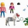 Playmobil 6950, Promenad med Pony