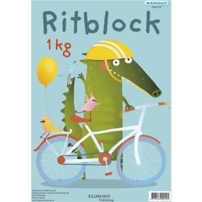 Egmont Kärnan Ritblock 1Kg - Egmont Kärnan Ritblock 1Kg
