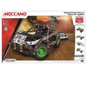 Meccano, 25 Models set, Mountain Rally - Meccano, 25 Models set, Mountain Rally
