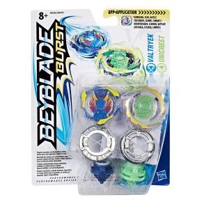 Beyblade Burst Valtryek och Unicrest Dual Pack (2-pack) - Beyblade Burst Valtryek och Unicrest Dual Pack (2-pack)