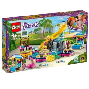 LEGO Friends Andreas poolparty 41374 6+ - LEGO Friends Andreas poolparty 41374 6+