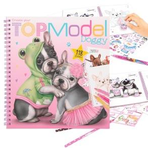 TOP Model Målarbok Doggy - TOP Model Målarbok Doggy