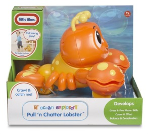 Little Tikes, Pull n' Chatter Lobster, hummer - Little Tikes, Pull n' Chatter Lobster, hummer