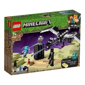 LEGO Minecraft 21151, End-striden - LEGO Minecraft 21151, End-striden