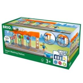 BRIO Tåg Smart Tech Tvättstation - BRIO Tåg Smart Tech Tvättstation