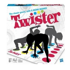 Hasbro, Twister Refresh 6+ - Hasbro, Twister Refresh 6+