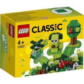 11007 LEGO Classic Kreativa gröna klossar 4+ - 11007 LEGO Classic Kreativa gröna klossar 4+