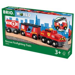 BRIO 33844 brandbilståg - BRIO 33844 brandbilståg