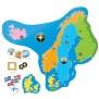 Alga, Learning, Geografi, Land & plats