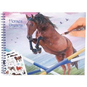 Målarbok Horses Dreams - Målarbok Horses Dreams