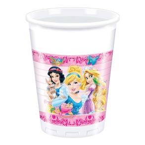 8 st plastmuggar - Disney prinsessor - 8 st plastmuggar - Disney prinsessor