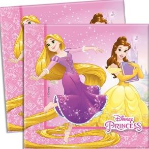Princess Heart Strong, Servetter 20 st - Princess Heart Strong, Servetter 20 st