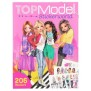 TOPModel Stickerworld - Top Model Pyssel Stickers - StickerWorld Stor med 240 stickers