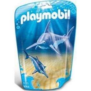 Playmobil Playmobil Svärdfisk med Unge 9068 - Playmobil Playmobil Svärdfisk med Unge 9068