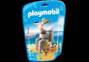 Playmobil 9070, Pelikan familj - Playmobil 9070, Pelikan familj