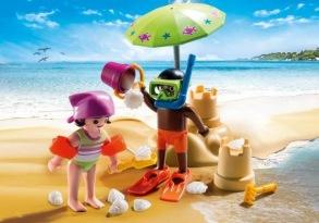 Playmobil 9085, Barn på stranden - Playmobil 9085, Barn på stranden