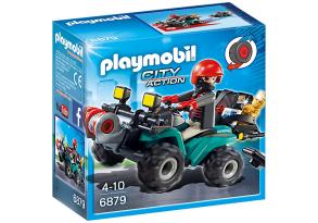Playmobil 6879, tjuvens fyrhjuling - Playmobil 6879, tjuvens fyrhjuling