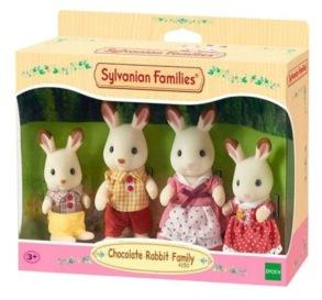 Sylvanian Families, Familjen Chokladkanin - Sylvanian Families, Familjen Chokladkanin