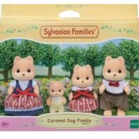Sylvanian Familjen - Caramel Dog Family 3+