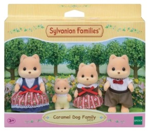 Sylvanian Familjen - Caramel Dog Family 3+ - Sylvanian Familjen - Caramel Dog Family   3+