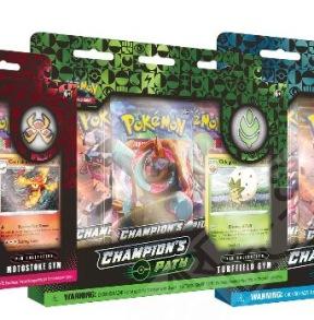 Pokémon TCG: Sword Shield SWSH 3.5 Champion's Path Pin Collection - Pokémon TCG: Sword Shield SWSH 3.5 Champion's Path Pin Collection