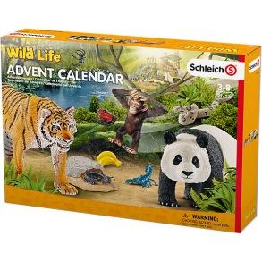 Schleich 97433 Adventskalender Wildlife - Schleich 97433 Adventskalender Wildlife